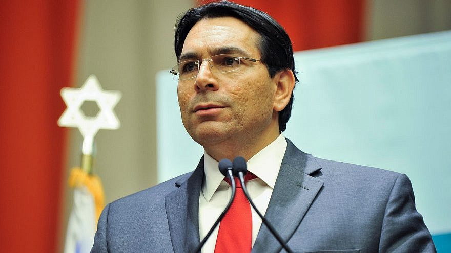 Danon slams claims that Israel is impeding Palestinian efforts to combat coronavirus