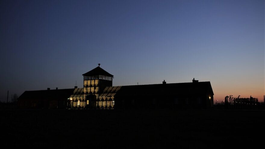 Virtual Holocaust memorial plaques in thousands to be projected on Birkenau gates