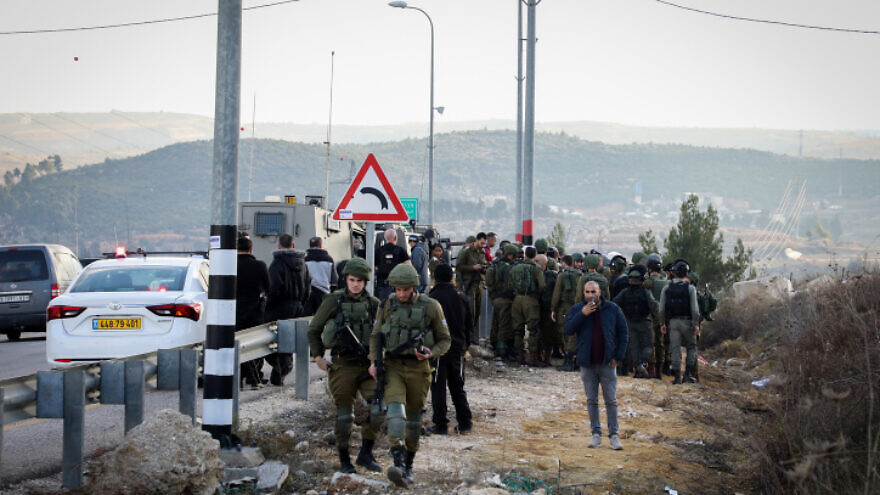 Israeli forces thwart terror attack in Gush Etzion
