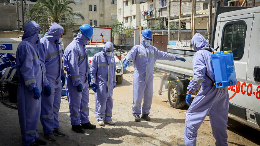 Israel transfers advanced coronavirus detection device to Gaza hospital