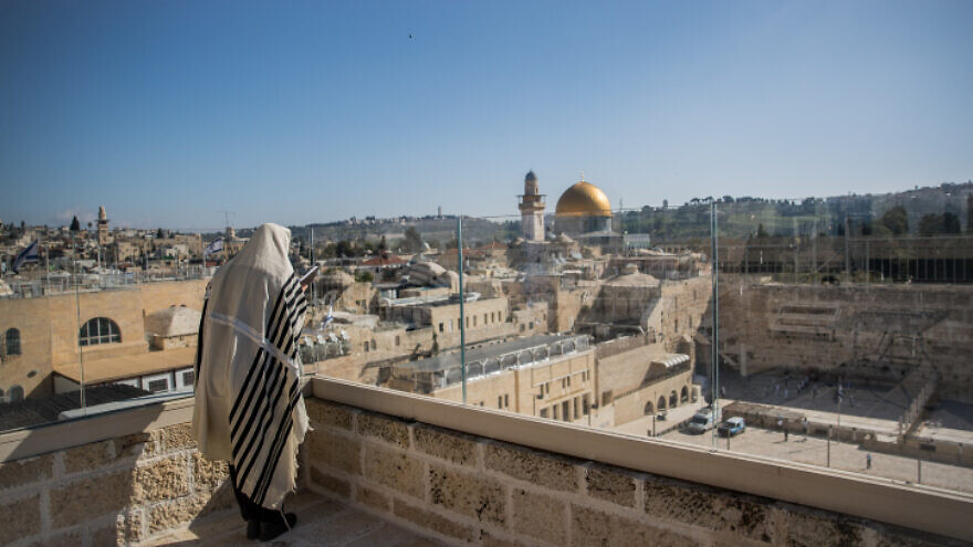 Western Wall priestly blessing ceremony attended by only 10 worshipers