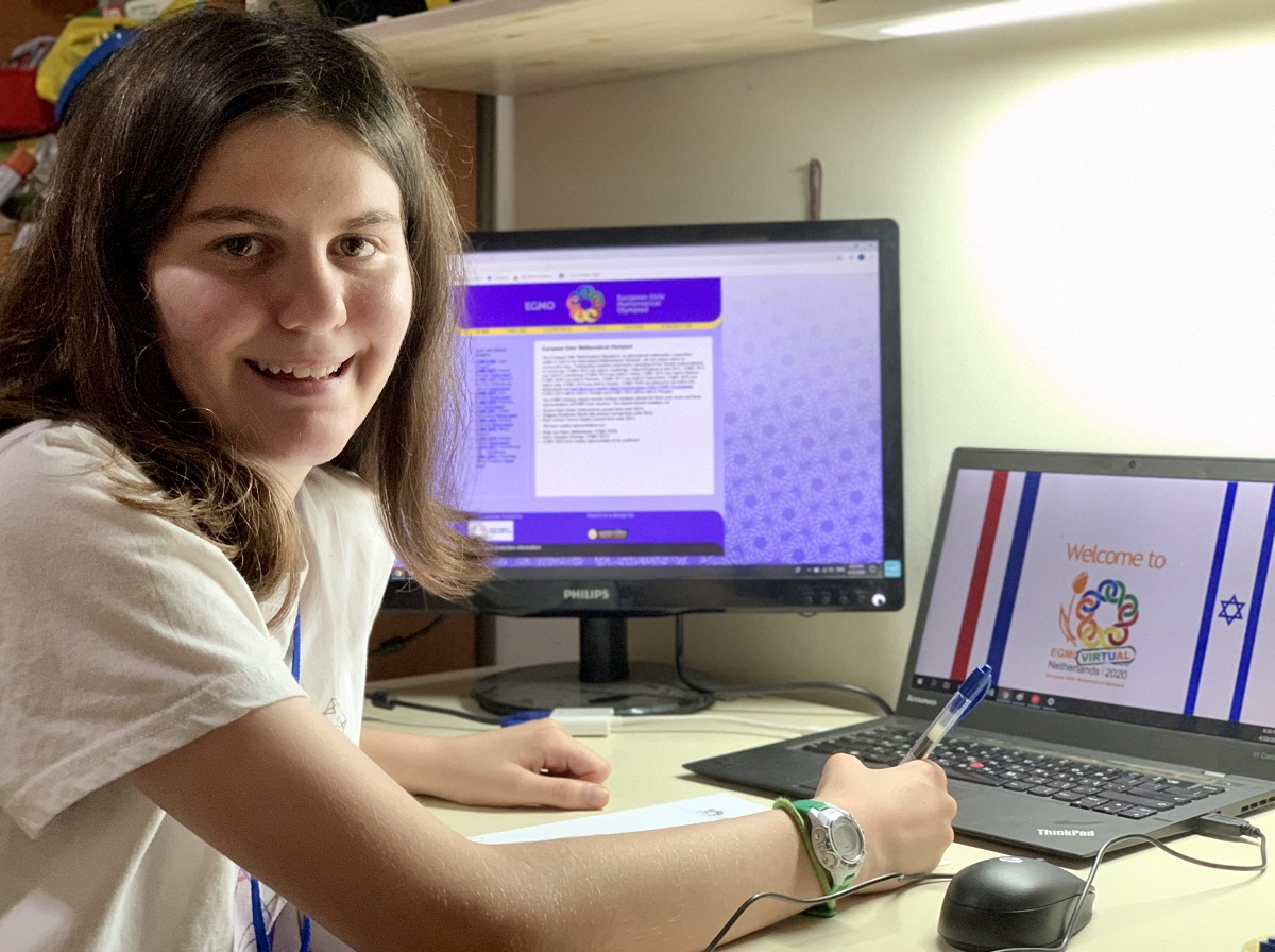 Israeli team wins silver, two bronze medals in European all-girls math competition