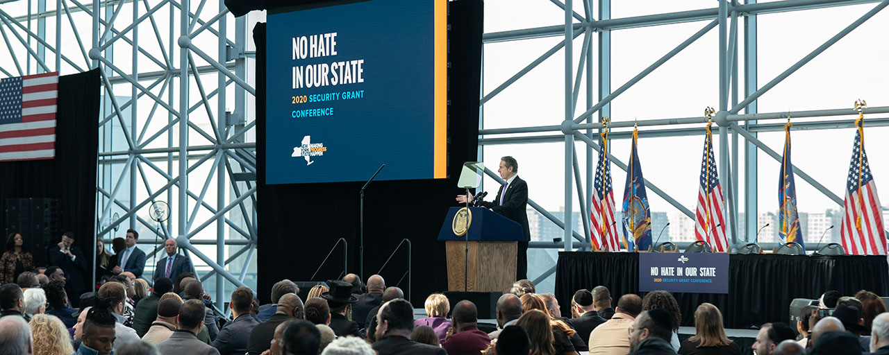 """American Jewish Congress applauds the inclusion of the """"No Hate In Our State"""" package in the state budget"""
