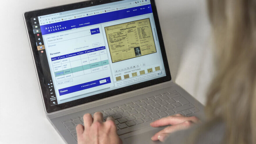 Online database with 26 million documents on Nazi victims, survivors now online