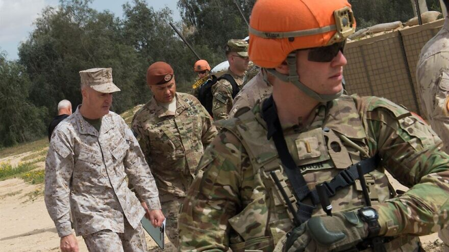 Bipartisan congressional letter warns against pulling US troops out of Sinai