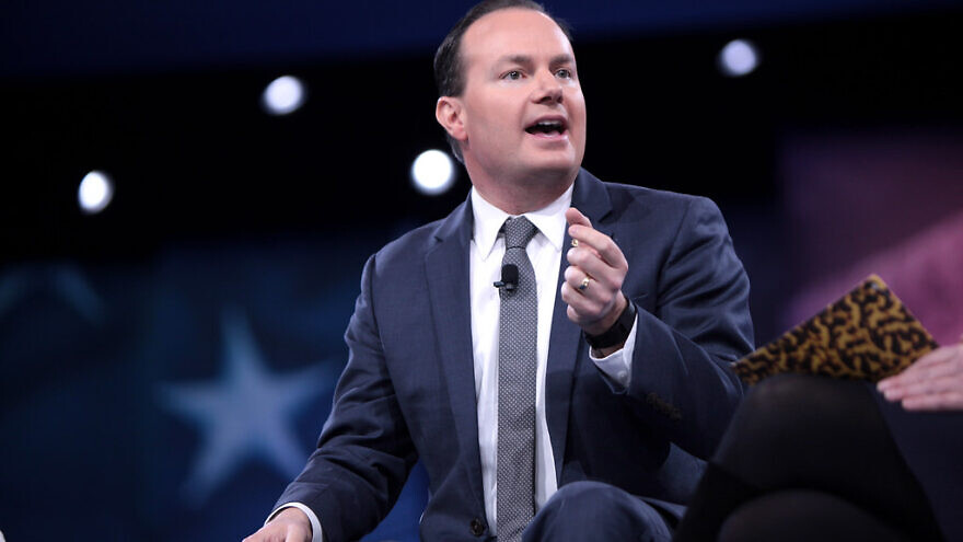 Sen. Mike Lee places hold on Never Again Education Act