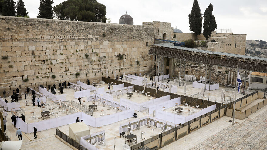 Western Wall reopens to worshippers, but with strict social-distancing limitations