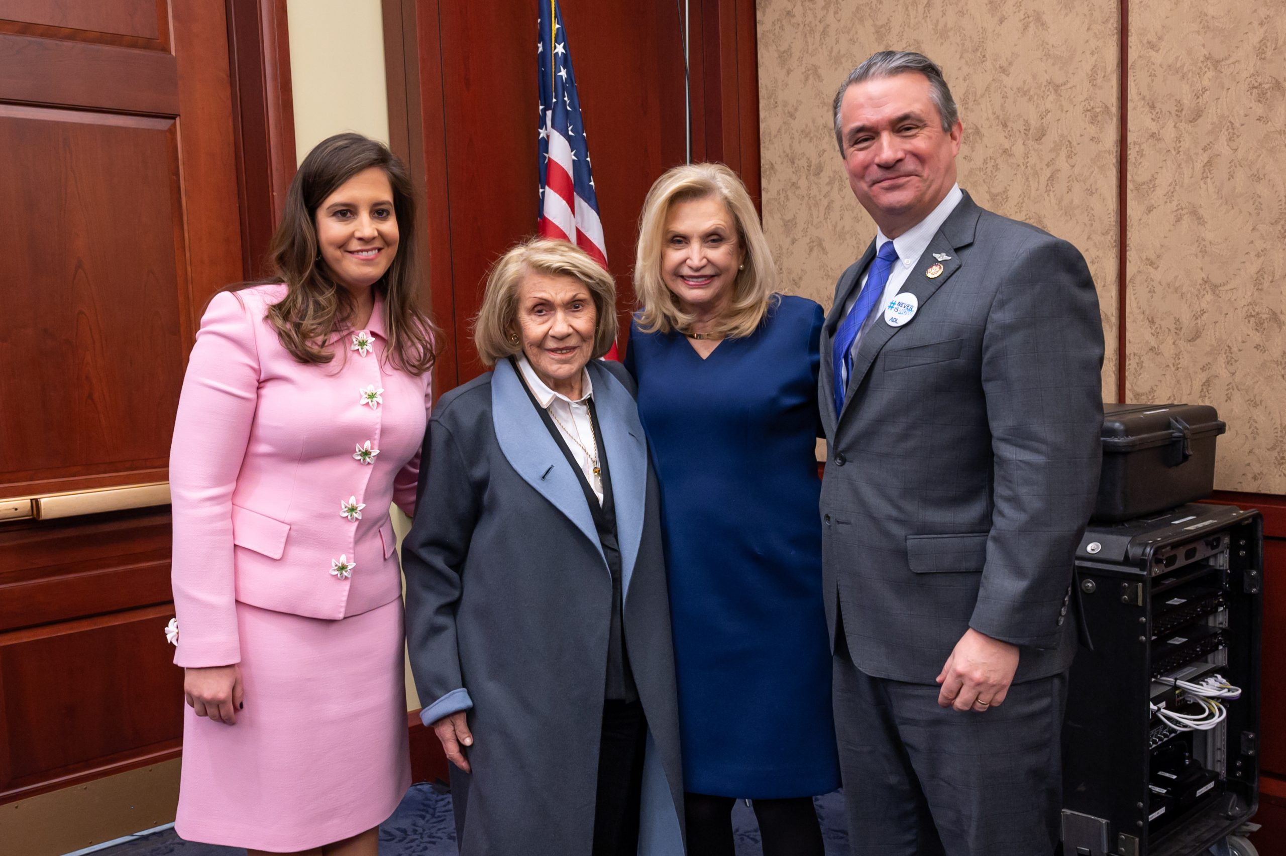 American Jewish Congress applauds the passage of the Never Again Education Act
