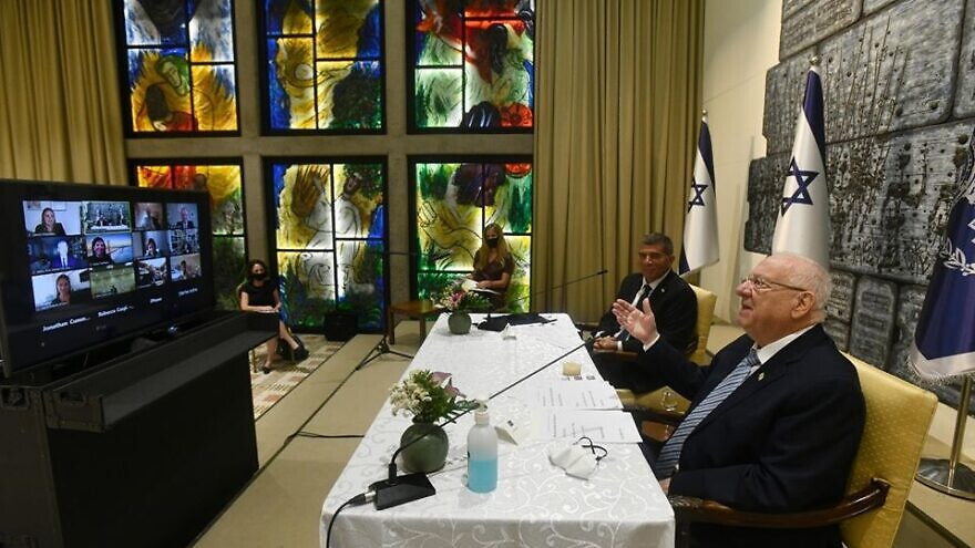 Israeli president to US Jewish leaders: 'Anti-Semitism, racism two sides of same coin'