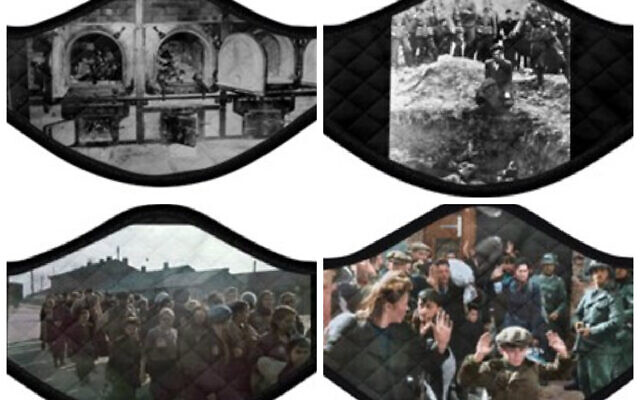 JEWISH NEWS: Holocaust face-masks condemned as a 'disgrace'