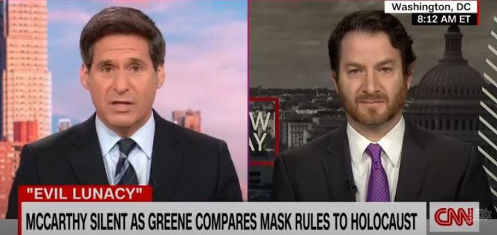E.D. Joel Rubin discusses Rep. Greene's outrageous Holocaust comparison on CNN