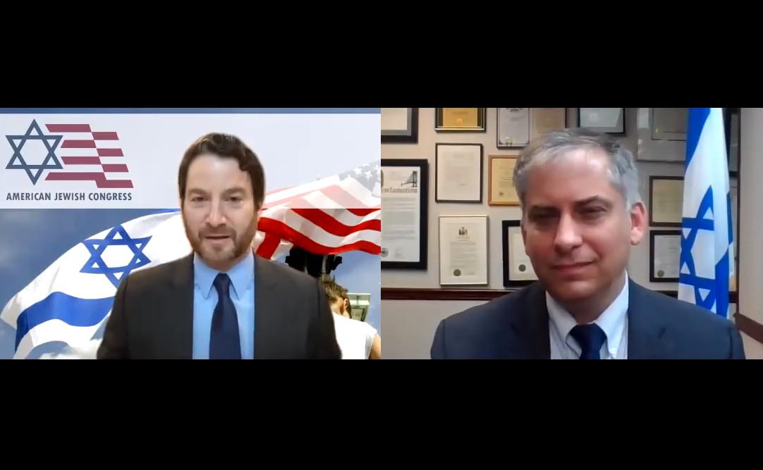 Conversation with Israel's Acting Consul General Nitzan